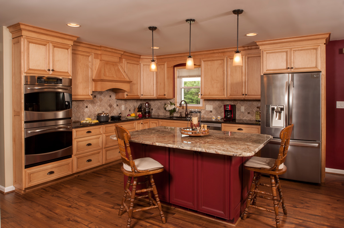 Types of countertops countertop edge types different for Different materials for kitchen cabinets