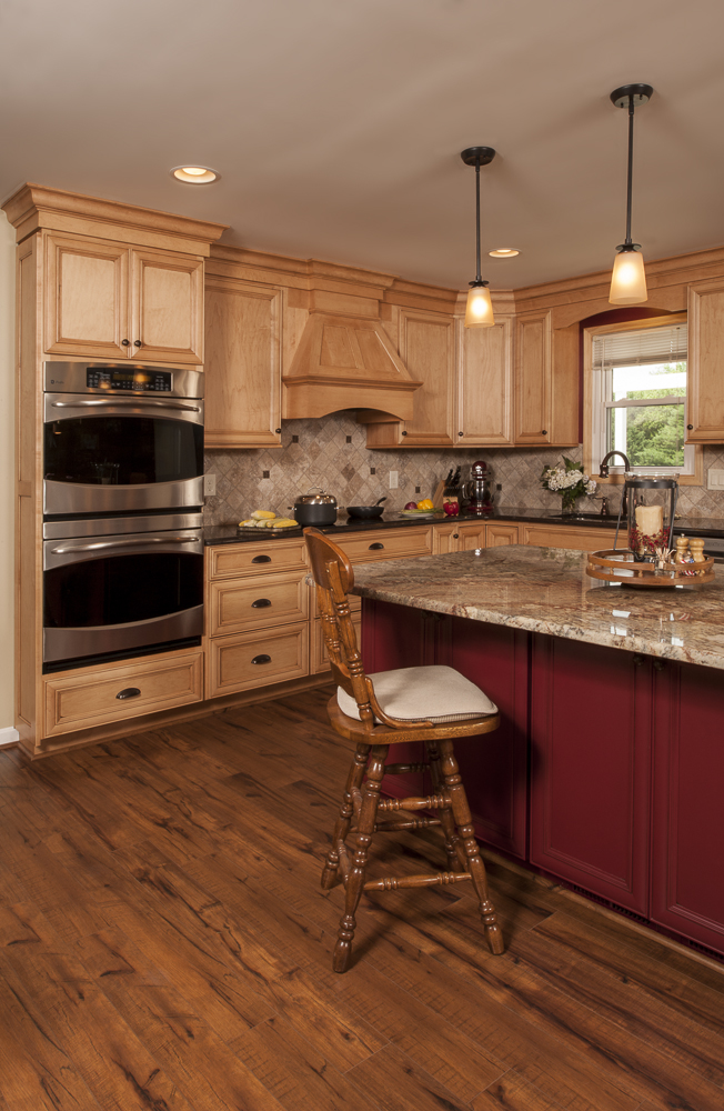 Country kitchen renovation bel air construction for Baltimore kitchen remodeling