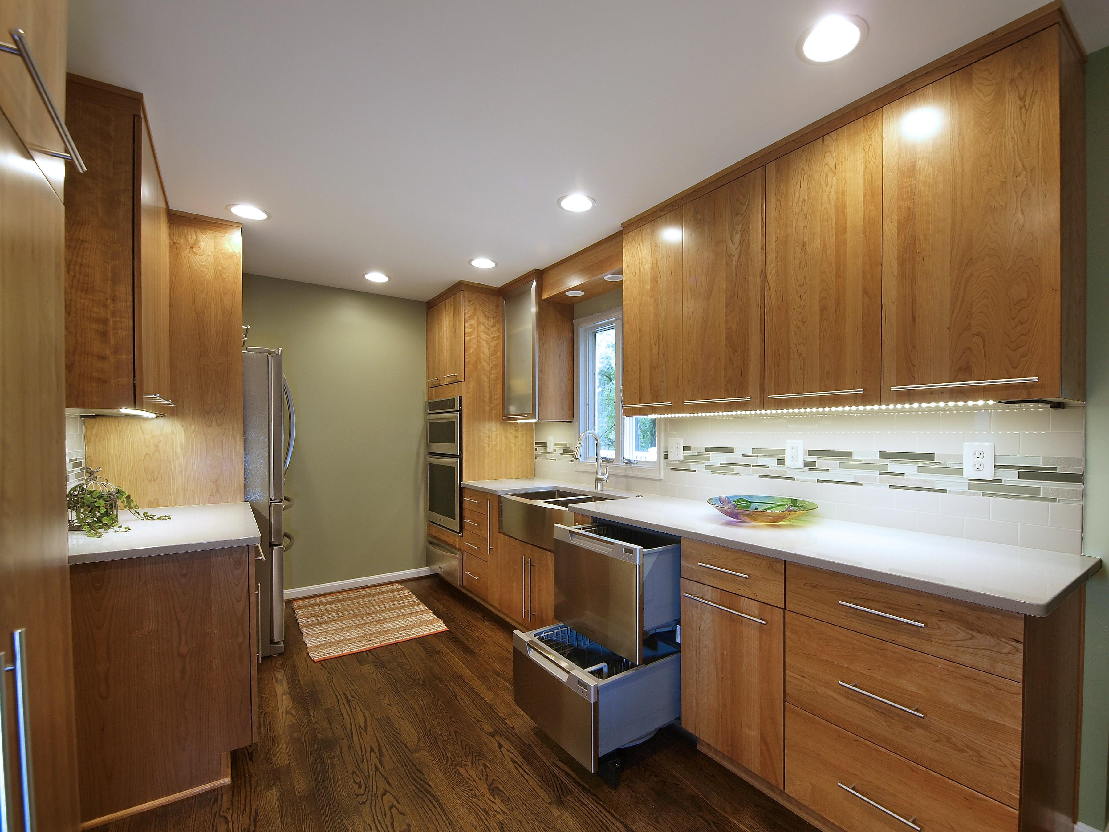 1980 s beautiful kitchen renovation bel air construction
