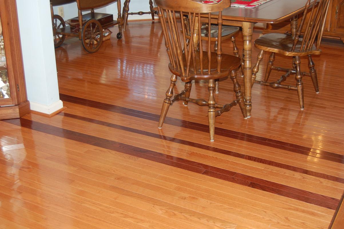 Oak And Cherry Hardwood Flooring