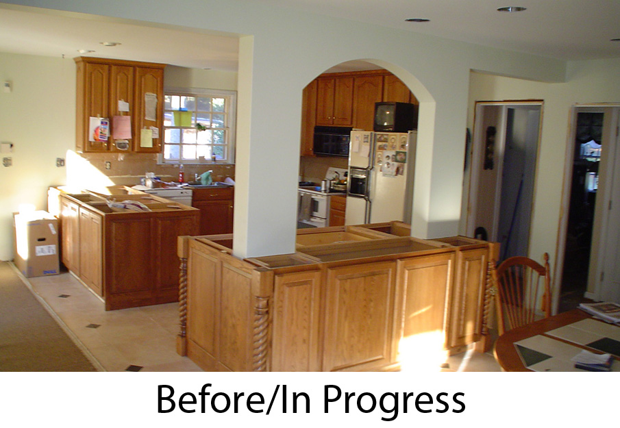 Rustic Lodge Family Room Addition - Bel-Air Construction – Maryland ...