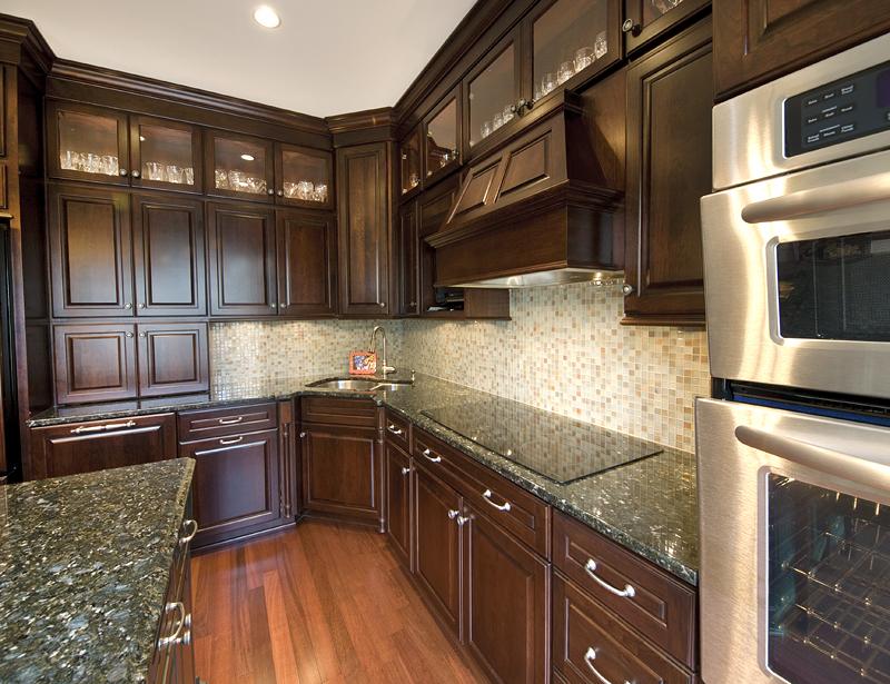 Rich Formal Cherry Kitchen Bel Air Construction