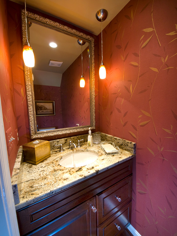 Powder Bathroom Renovation Bel Air Construction Maryland Baltimore Remodeling