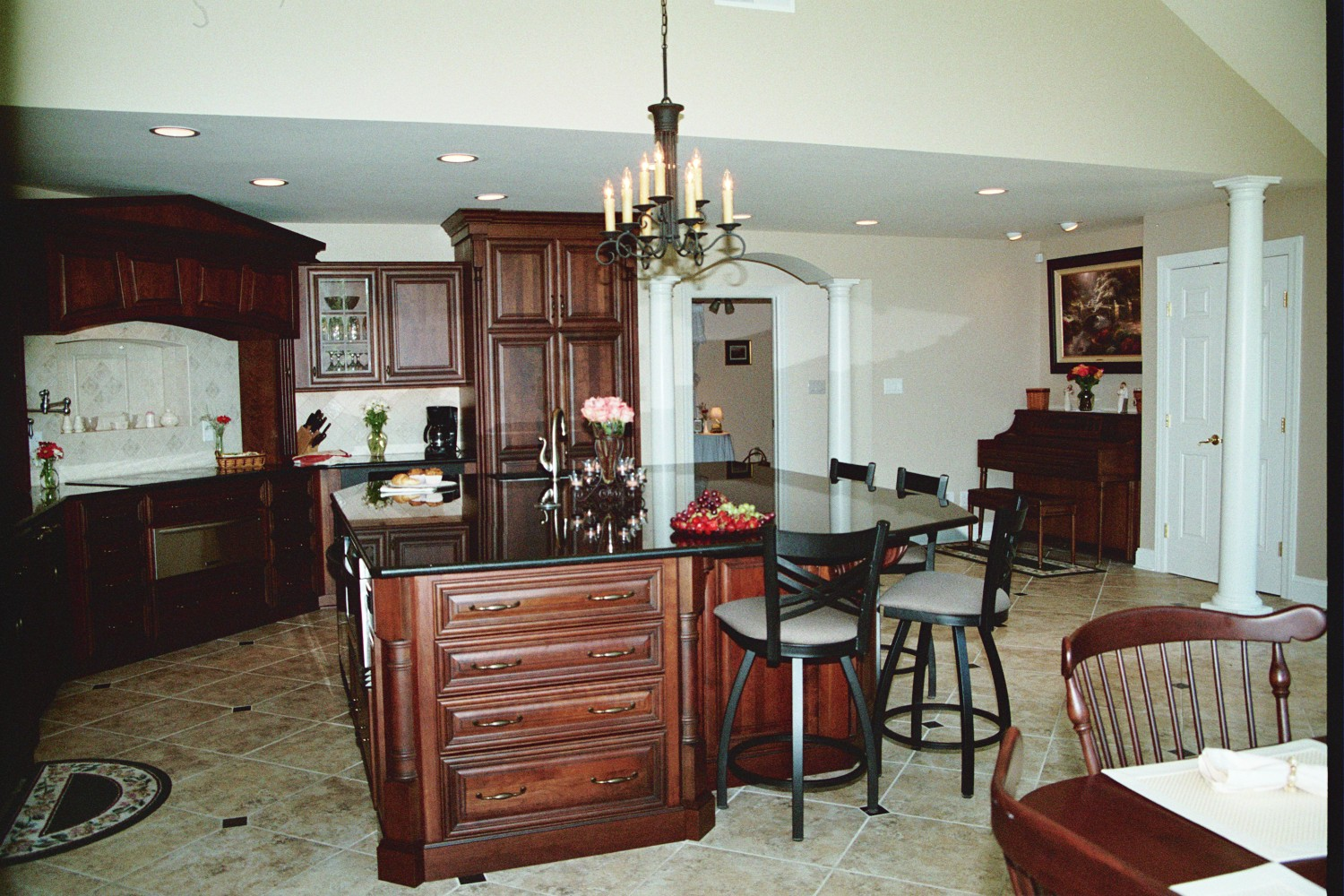Bringing the outdoors in kitchen dining great room addition bel air construction maryland - Dining room additions ...