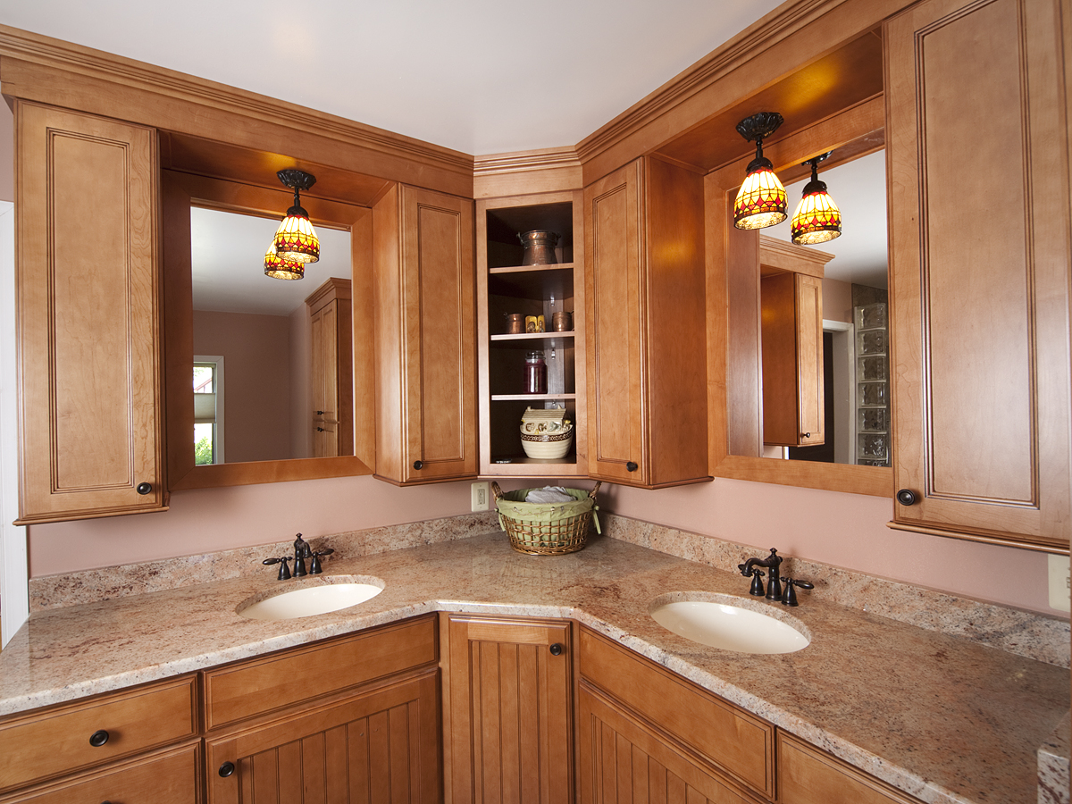 Remodeled Bathrooms - Bel-Air Construction - Maryland ...