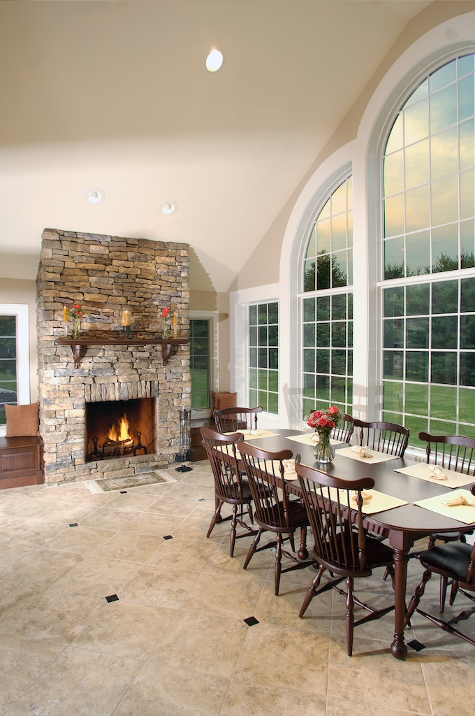 Bringing the outdoors in kitchen dining great room for Great room addition