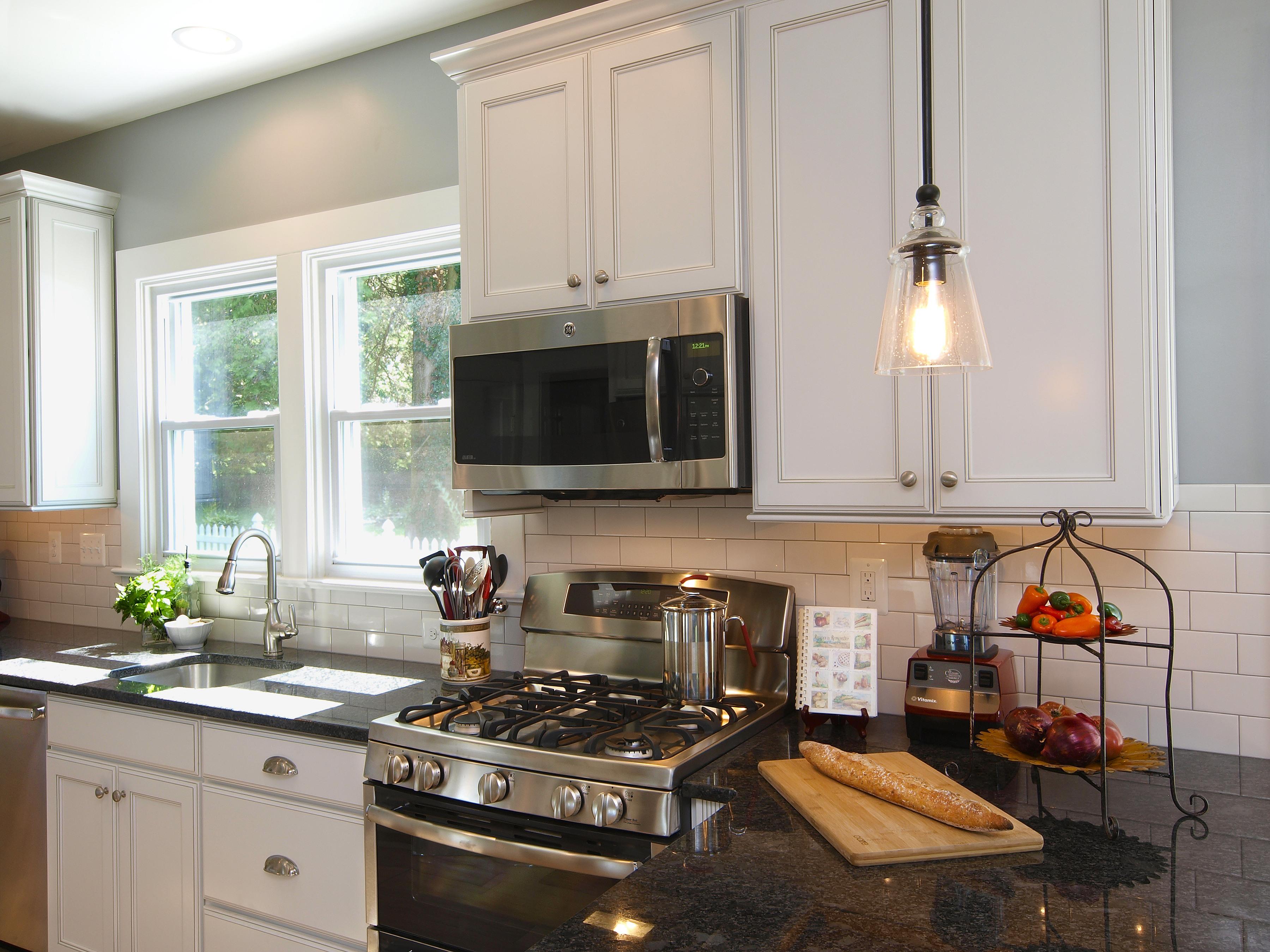 Updated Kitchen With Modern Conveniences Bel Air