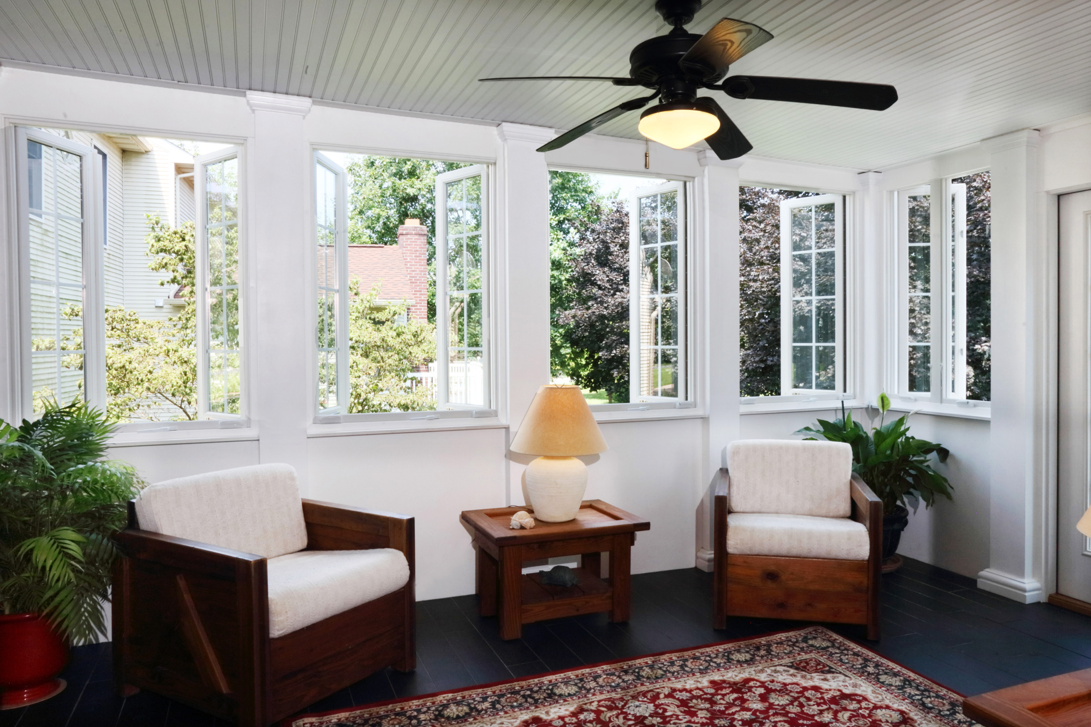 From Deck To Screened In Porch To Sunroom Bel Air