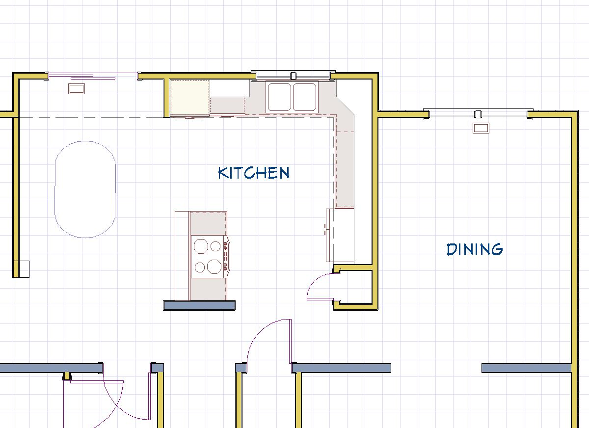 Kunmann Floor Plan Before Bel Air Construction